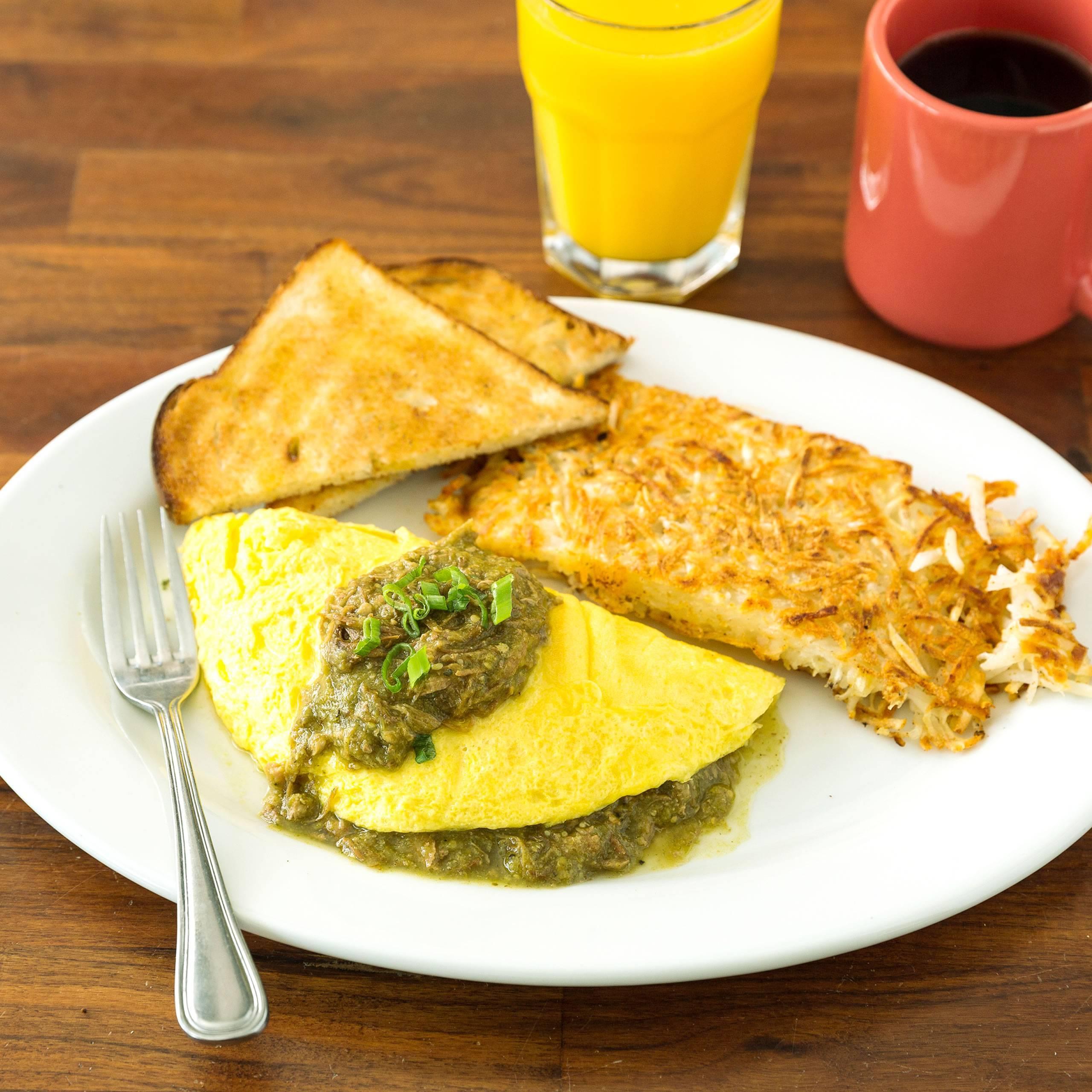 HBC Chile Verde Omelet